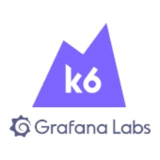 k6 - A Grafana Labs Company logo