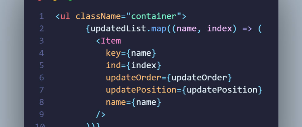 Cover image for How to create a smooth draggable list with react in 10 mins