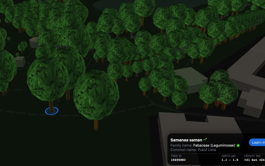 ExploreTrees.SG 3D realistic trees