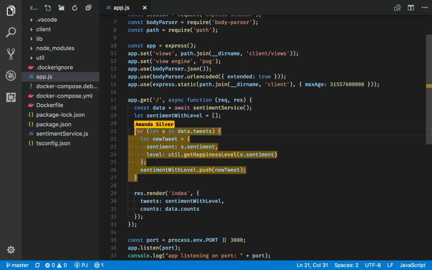 VS Code Live Share Example