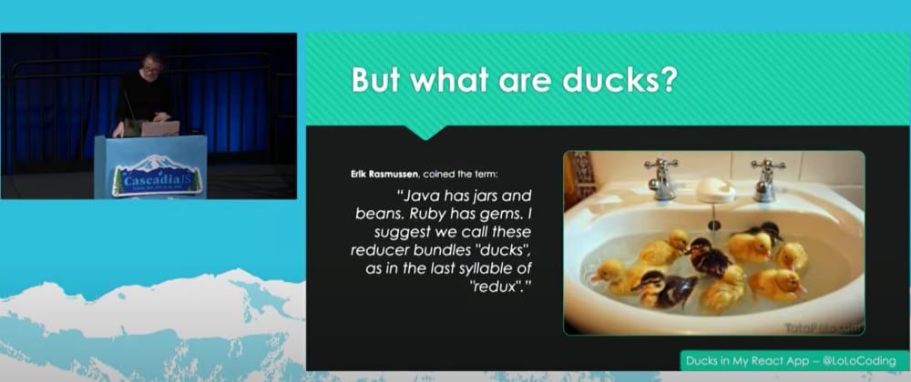 Cover image for #30DaysOfCJS: Why I Chose to Modularize the Ducks in My React App