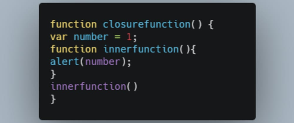 Cover image for Master Closures in Javascript.