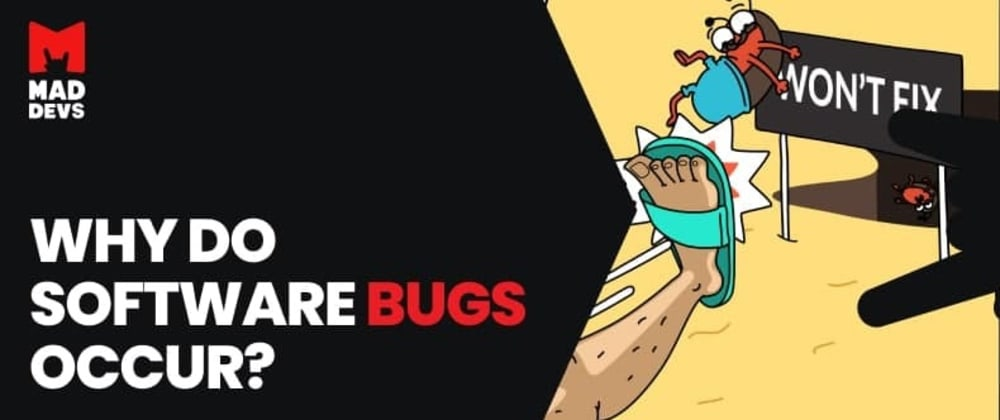 Cover image for Why do software bugs occur?