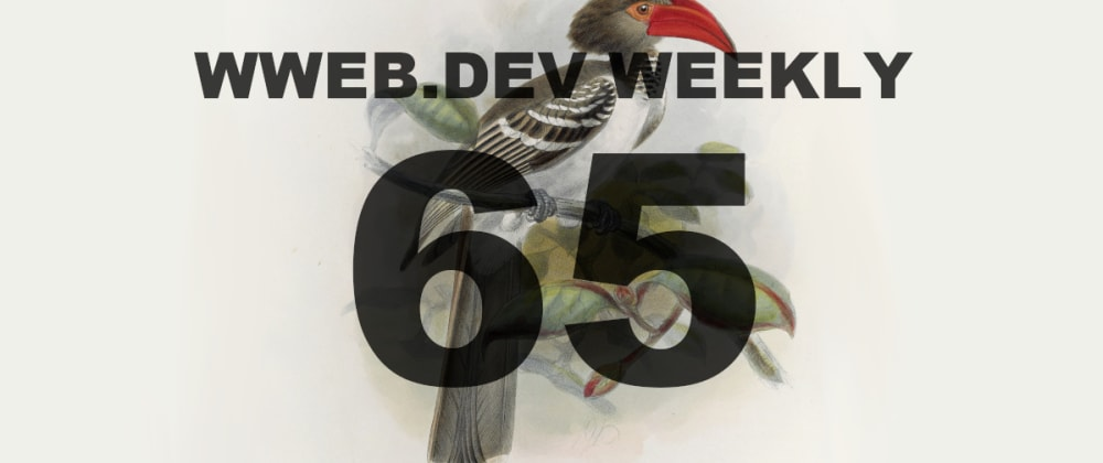 Cover image for Weekly web development resources #65