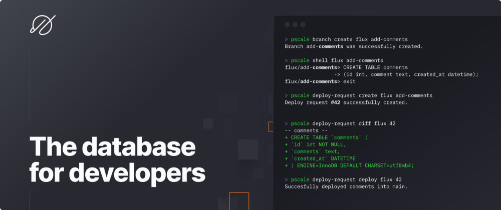 Cover image for The database for developers is here
