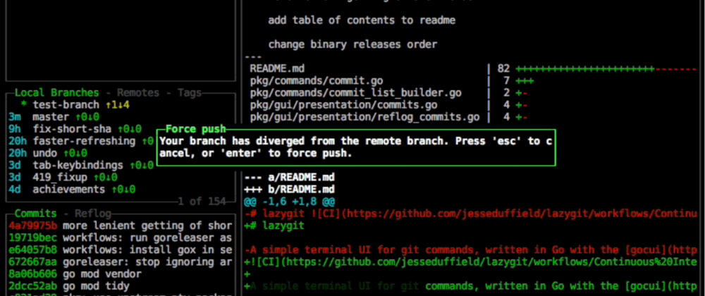 Cover image for LazyGit - terminal UI for git commands // Cool GitHub projects
