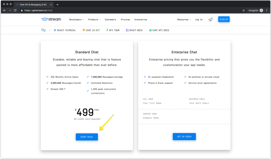 Stream Pricing