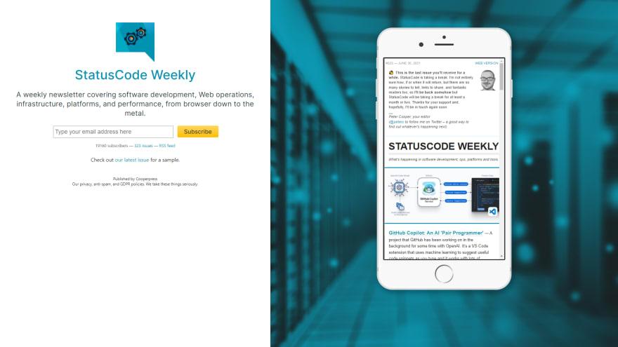 Statuscode Weekly