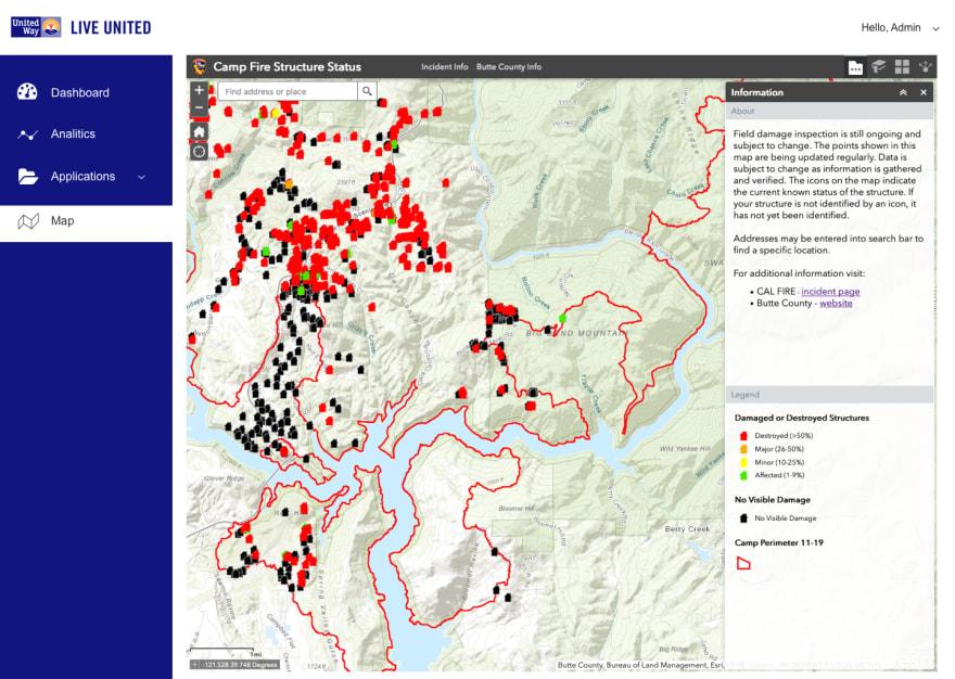 California Wildfire Map