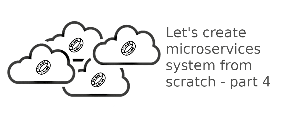 Cover image for Let's create microservices system from scratch - part 4