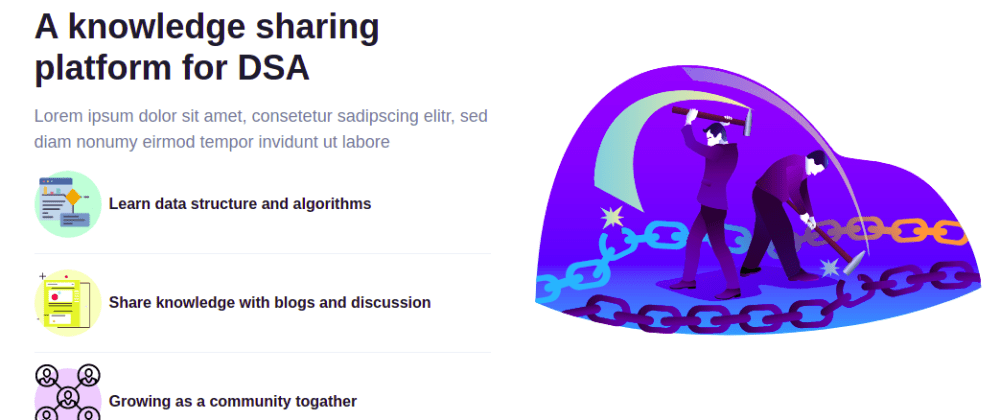 Cover image for Building a new community for Data structure and Algorithms seekers.