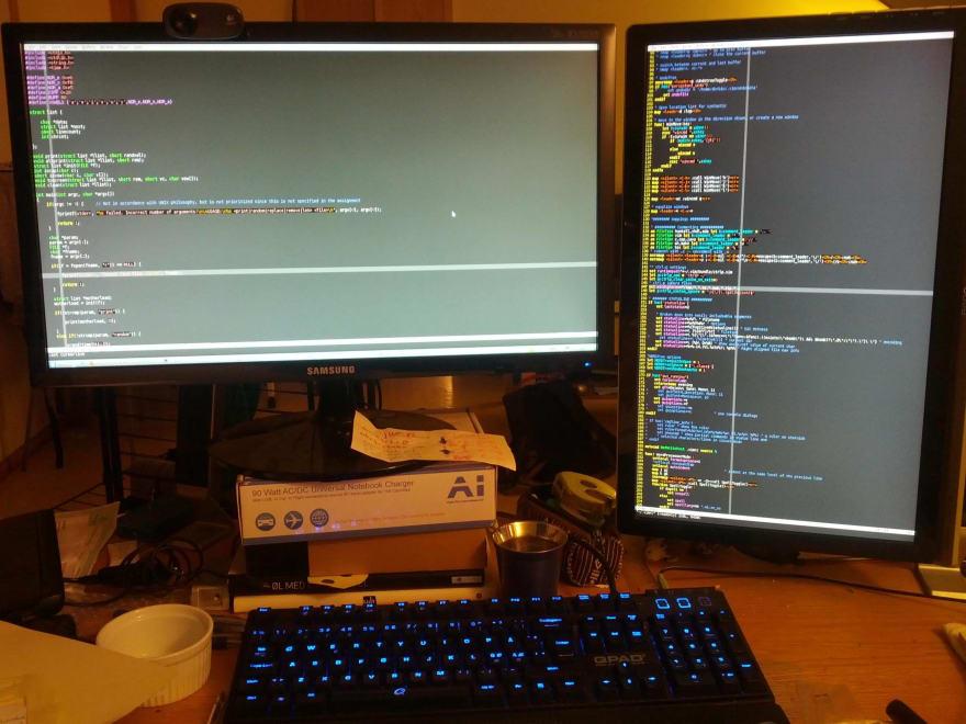 vim editor for development