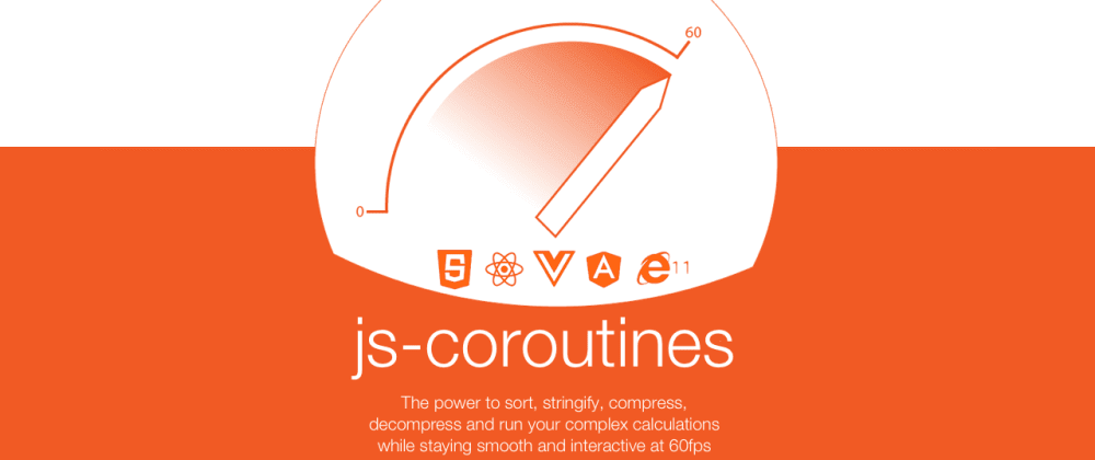 Cover image for 60fps Javascript while you stringify, parse, process, compress and filter 100Mbs of data