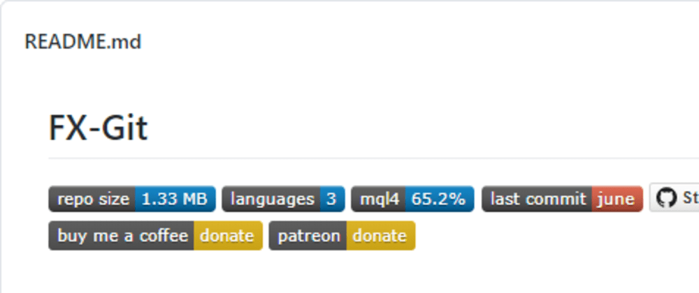 Cover image for README badges that increased my GitHub visitor stats