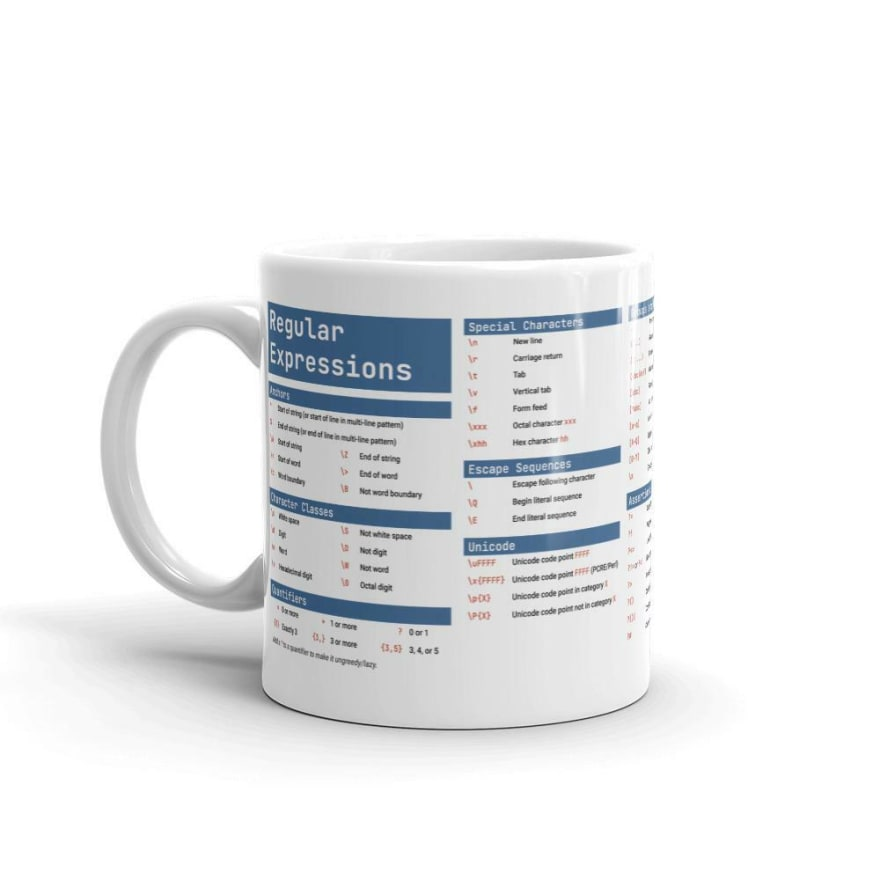 Regular expression mug