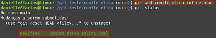 arquivo no index