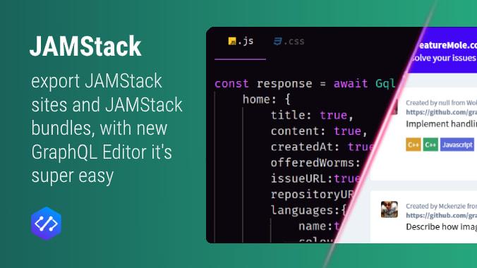 GraphQL Editor makes JAMStack way a lot easier