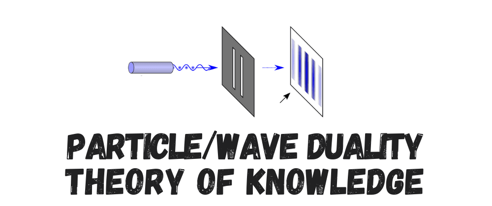 Cover image for The Particle/Wave Duality Theory of Knowledge