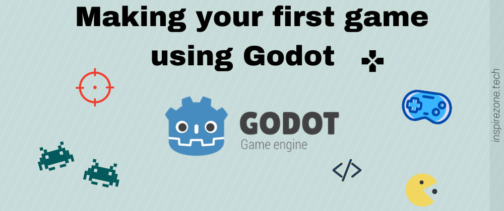 Cover image for Making my first game in under a week using Godot engine (you can do it too!)