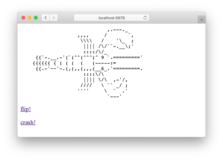 Our minimal Ruby HTTP server running Rack::Lobster