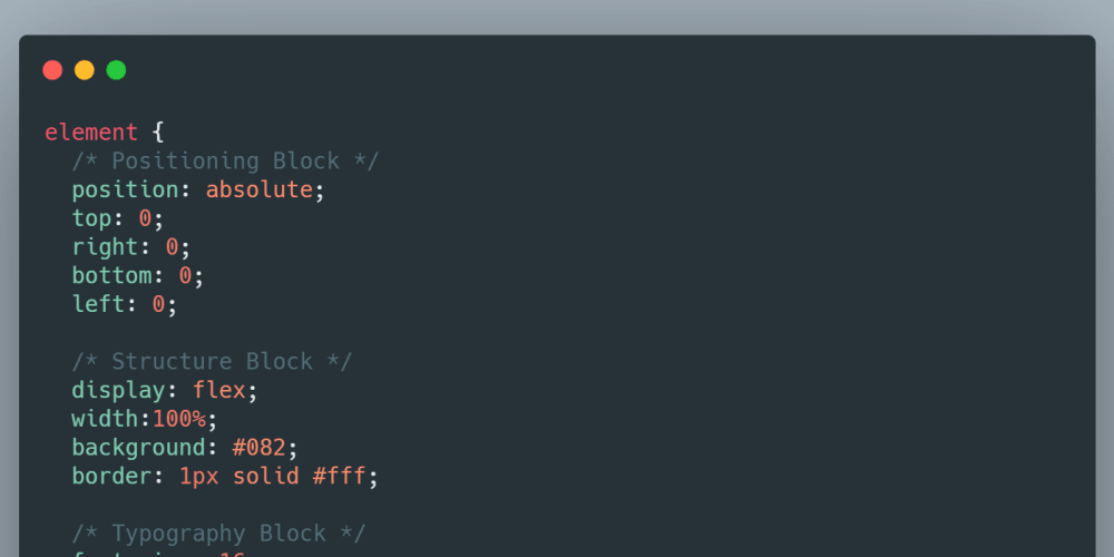 CSS Structure - DEV Community
