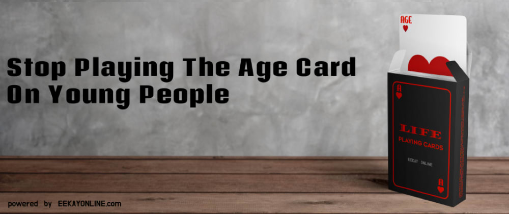 Cover image for Tech Scene: Stop Playing the Age Card On (Young) People