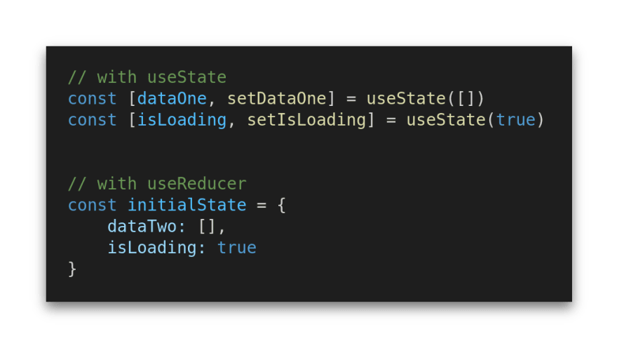 A comparison of useState and useReducer state management