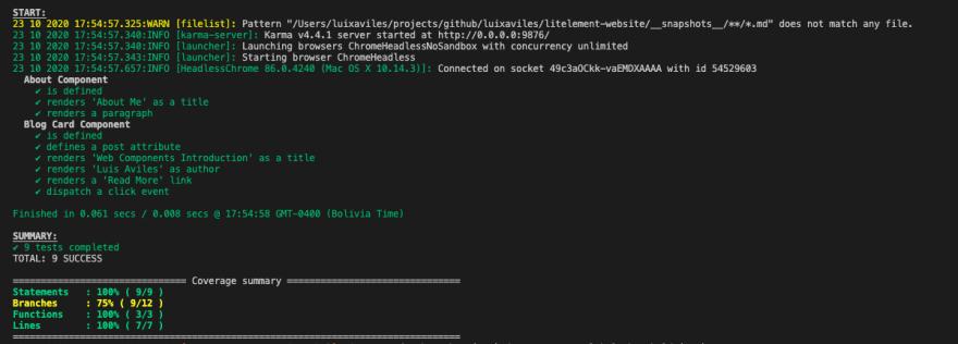 screenshot-output-testing-karma