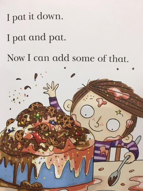 I pat it down, I pat and pat