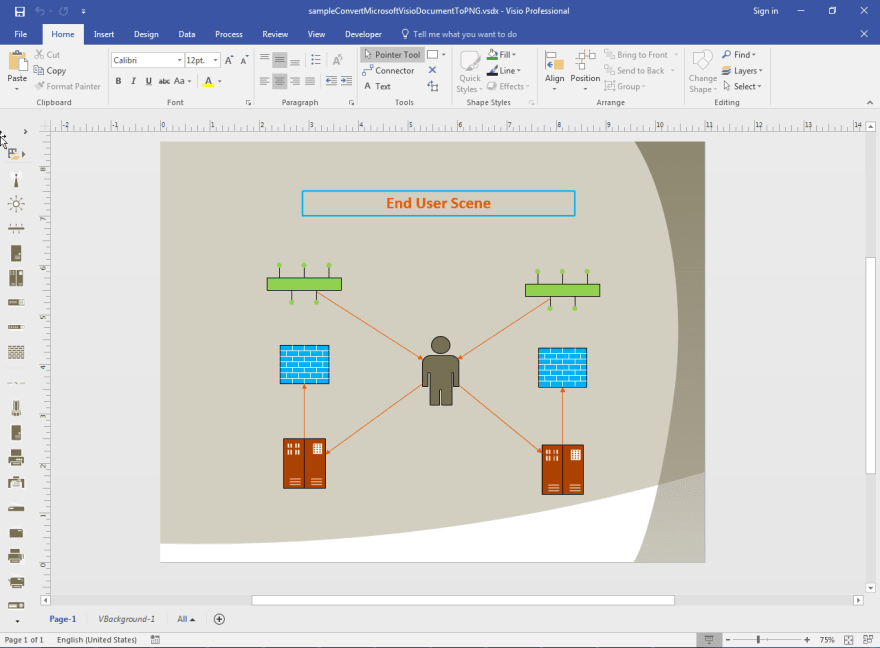 Convert Microsoft Visio Document to PNG in Java - DEV Community