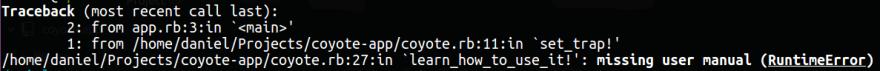 small-ish error example