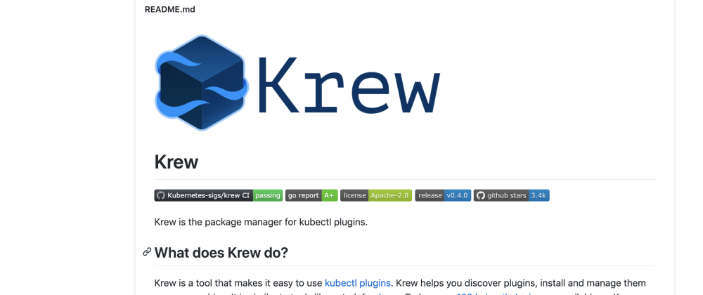 Cover image for Here is the package manager for k8s : krew