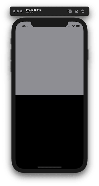 Vertical alignment background colors