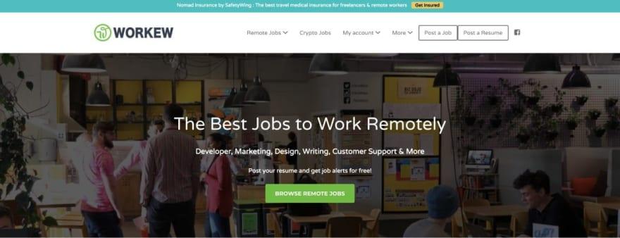 Workew website