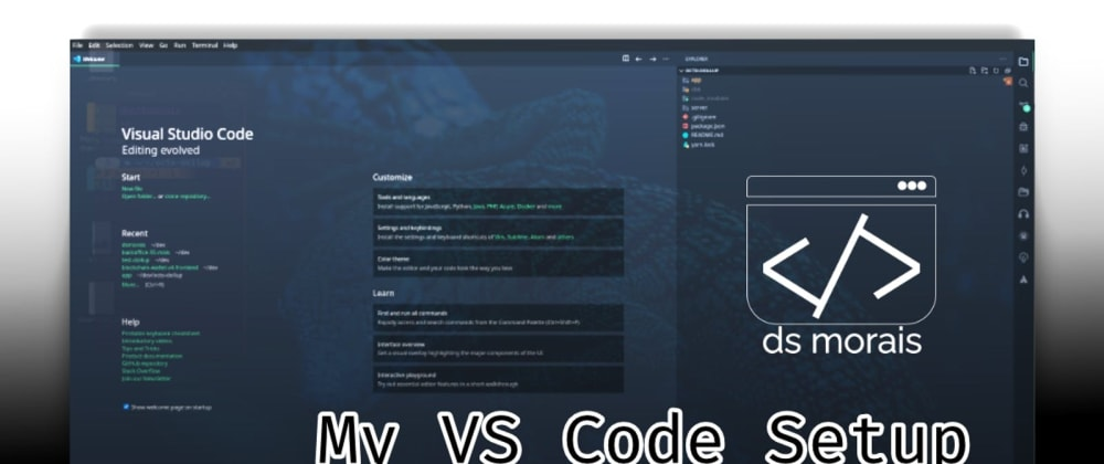 Cover image for My VS Code Setup (and less known extensions)