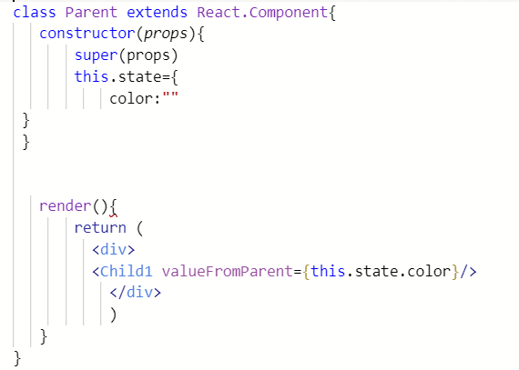 《React:在组件之间传递数据》