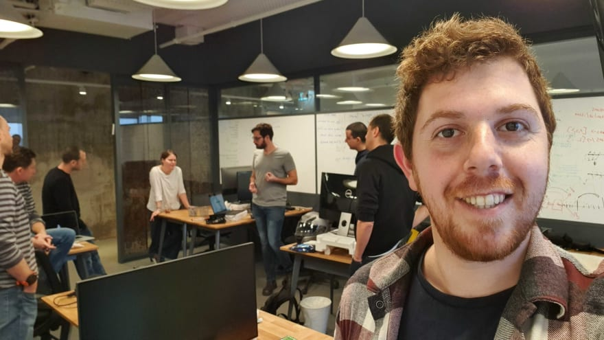 """Hello! I'm Miki. I'm a junior dev at LinearB but I always pay attention in our stand-up. (unless, of course, Dan asks me to take a selfie for his blog 🙂 )"""