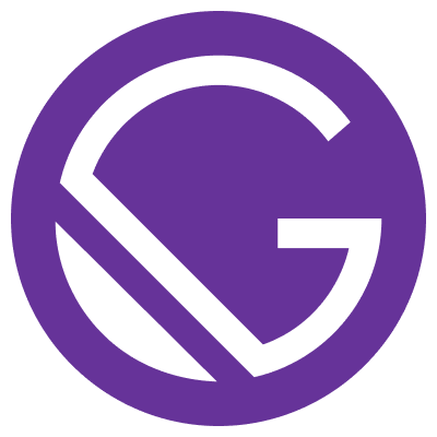 Technologies to build a JAMstack website: Gatsby;