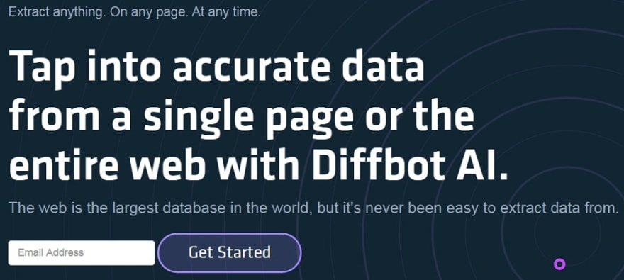 Diffbot Overview