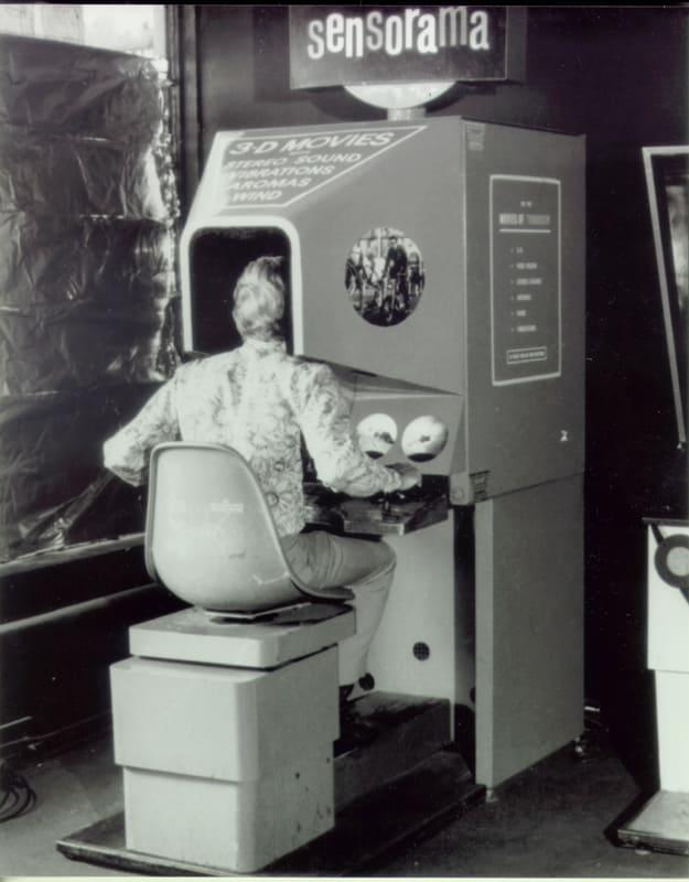 The Sensorama machine