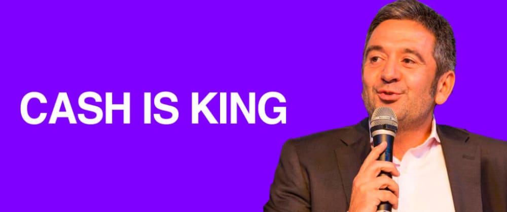 Cover image for Cash is King, por Xavier Mitjavila
