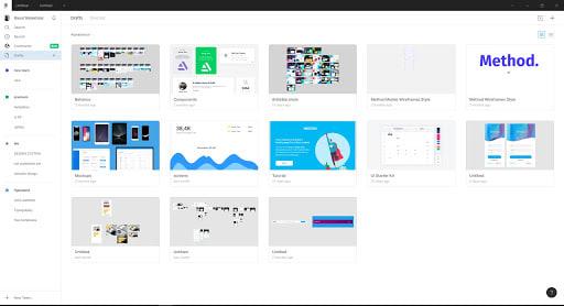 Figma File Browser