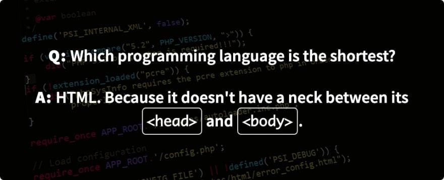 Daily Developer Jokes, Friday Jan. 17, 2020
