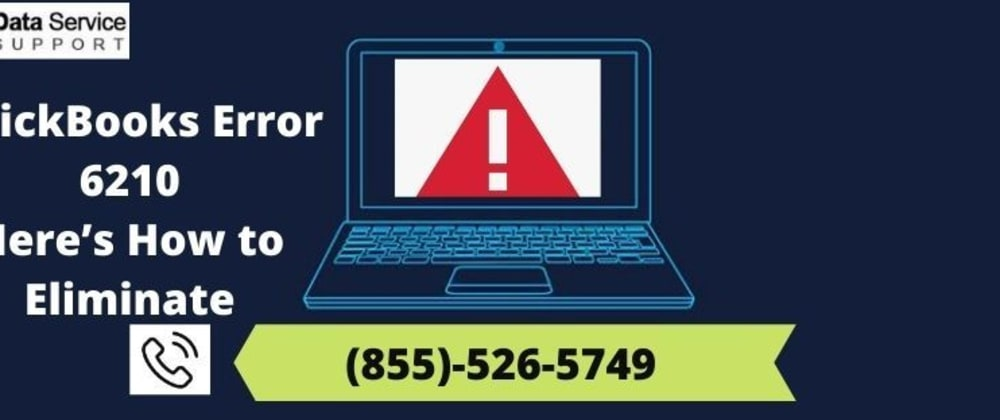 Cover image for QuickBooks Error 6210 | Here's How to Eliminate