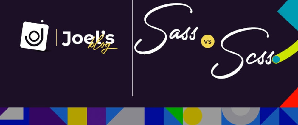 Cover image for Sass vs Scss