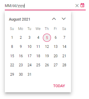 Configuring Mask Placeholder in Angular DatePicker
