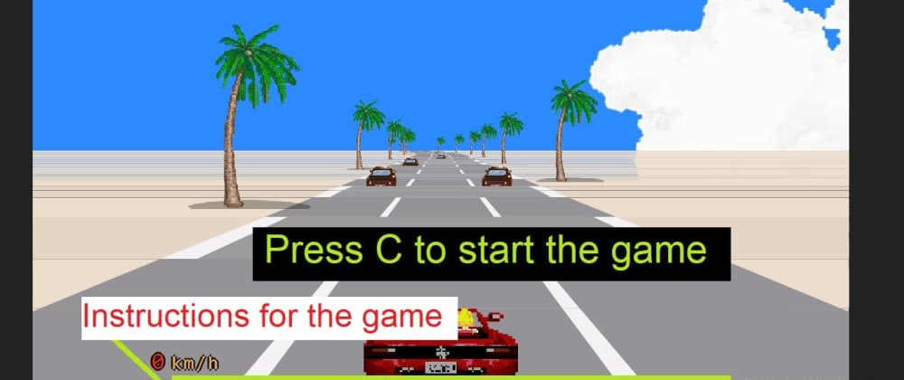 Cover image for Make A Car Racing Game Using HTML, CSS, And JavaScript