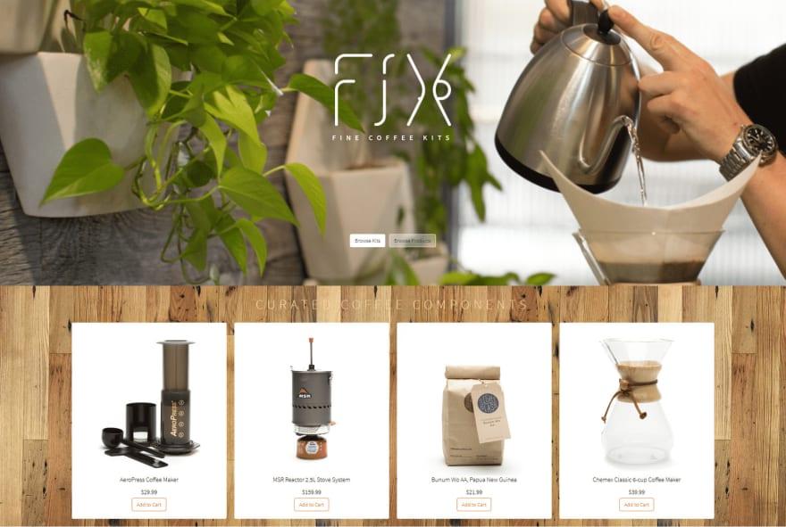 eCommerce example