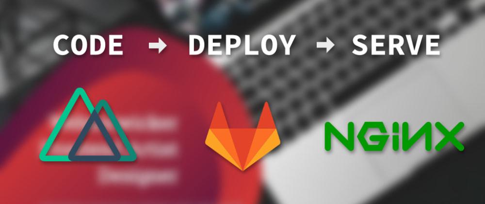 Cover image for Deploy nuxt.js static mit gitlab-ci