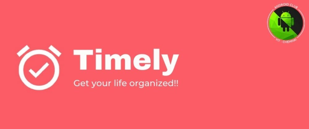Cover image for TimeLy- An app that every student must have